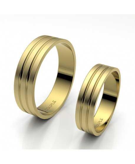 Alianza Trend Oro Amarillo de 5mm